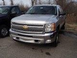 2012 Silver Ice Metallic Chevrolet Silverado 1500 LT Extended Cab 4x4 #57969828