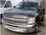2012 Black Granite Metallic Chevrolet Silverado 1500 LS Regular Cab #57969818