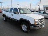 2004 Summit White Chevrolet Silverado 1500 LS Extended Cab 4x4 #57969810