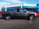 2011 Mocha Steel Metallic Chevrolet Silverado 1500 LT Extended Cab 4x4 #57873964