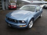 2007 Windveil Blue Metallic Ford Mustang V6 Premium Coupe #57875895