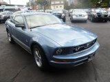 2007 Ford Mustang Windveil Blue Metallic