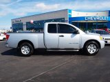 2007 Radiant Silver Nissan Titan XE King Cab #57873930
