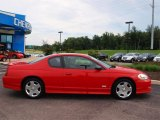 2006 Victory Red Chevrolet Monte Carlo SS #57873909