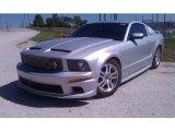 2005 Satin Silver Metallic Ford Mustang V6 Premium Coupe #57875835