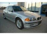 2000 Titanium Silver Metallic BMW 3 Series 323i Sedan #57875805