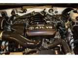 2008 Toyota Tundra CrewMax 4.7 Liter DOHC 32-Valve VVT V8 Engine