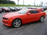 2010 Inferno Orange Metallic Chevrolet Camaro SS/RS Coupe #57873871