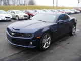 2010 Imperial Blue Metallic Chevrolet Camaro SS/RS Coupe #57873866