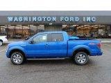 2012 Blue Flame Metallic Ford F150 FX4 SuperCrew 4x4 #57969706