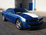2010 Aqua Blue Metallic Chevrolet Camaro LT Coupe #57873861