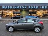 2012 Sterling Grey Metallic Ford Focus SE 5-Door #57969695