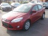 2012 Red Candy Metallic Ford Focus SE 5-Door #57969689