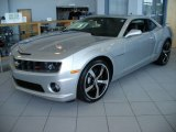 2010 Silver Ice Metallic Chevrolet Camaro SS/RS Coupe #57873845