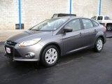 2012 Sterling Grey Metallic Ford Focus SE Sedan #57873842