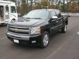 2011 Black Chevrolet Silverado 1500 LT Crew Cab #57875744
