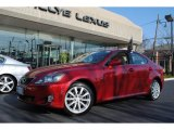 2008 Matador Red Mica Lexus IS 250 AWD #57969641