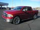 2012 Deep Cherry Red Crystal Pearl Dodge Ram 1500 Lone Star Crew Cab #57875732