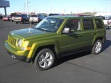 2012 Rescue Green Metallic Jeep Patriot Latitude #57875726