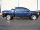 2011 Imperial Blue Metallic Chevrolet Silverado 1500 LT Crew Cab 4x4 #57873824