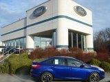 2012 Sonic Blue Metallic Ford Focus SE Sport Sedan #57873817