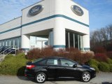 2012 Tuxedo Black Metallic Ford Focus SE Sport Sedan #57873816