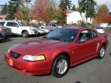 1999 Laser Red Metallic Ford Mustang V6 Coupe #57873799
