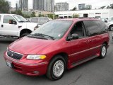 1996 Chrysler Town & Country Candy Apple Red Metallic