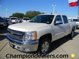 2012 White Diamond Tricoat Chevrolet Silverado 1500 LT Crew Cab 4x4 #57873066