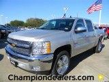 2012 Silver Ice Metallic Chevrolet Silverado 1500 LT Crew Cab #57873065