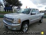 2012 Silver Ice Metallic Chevrolet Silverado 1500 LT Crew Cab #57873059