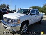 2012 Summit White Chevrolet Silverado 1500 LT Crew Cab #57873049