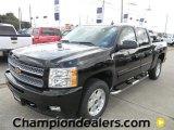 2012 Black Chevrolet Silverado 1500 LT Crew Cab 4x4 #57873044