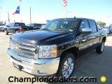 2012 Black Chevrolet Silverado 1500 LT Crew Cab #57873043