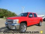 2012 Victory Red Chevrolet Silverado 1500 LT Crew Cab #57873039
