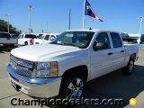 2012 Summit White Chevrolet Silverado 1500 LT Crew Cab #57873038