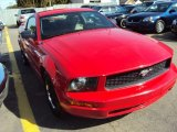 2006 Torch Red Ford Mustang V6 Premium Coupe #57875633
