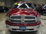 2012 Deep Cherry Red Crystal Pearl Dodge Ram 1500 Lone Star Quad Cab 4x4 #57969533