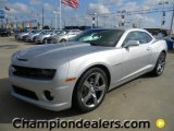 2012 Silver Ice Metallic Chevrolet Camaro SS/RS Coupe #57873003