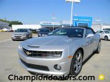 2012 Silver Ice Metallic Chevrolet Camaro SS/RS Convertible #57872996