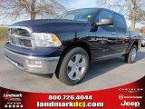 2012 True Blue Pearl Dodge Ram 1500 Big Horn Crew Cab #57969523