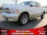 2012 Bright White Dodge Ram 1500 Laramie Longhorn Crew Cab 4x4 #57969521