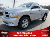 2012 Bright Silver Metallic Dodge Ram 1500 Express Regular Cab #57969518