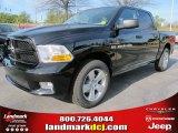 2012 Black Dodge Ram 1500 Express Crew Cab #57969516