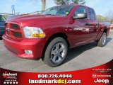 2012 Deep Cherry Red Crystal Pearl Dodge Ram 1500 Express Quad Cab #57969511