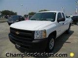 2011 Summit White Chevrolet Silverado 1500 Extended Cab #57872972