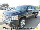 2011 Black Chevrolet Silverado 1500 LT Crew Cab #57872963