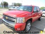 2011 Victory Red Chevrolet Silverado 1500 LT Crew Cab #57872962