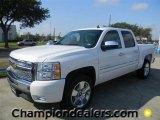 2011 Summit White Chevrolet Silverado 1500 LT Crew Cab #57872961
