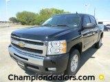 2011 Black Chevrolet Silverado 1500 LT Crew Cab #57872958